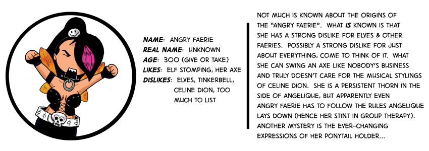 Angry Faerie Bio